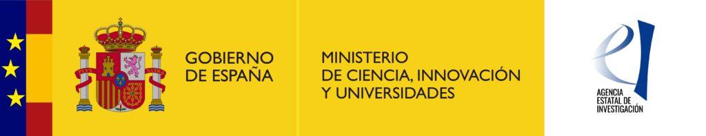 Logo Gobierno de España y Ministerio de Ciencia, Innovación y Universidades